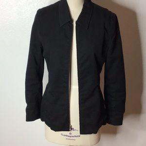 Gap Black Zip Up Woman Jacket 4